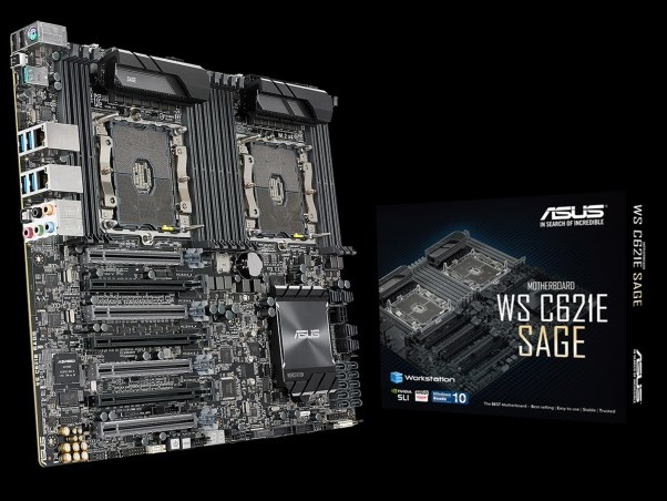 Dual Xeon Scalable Overclocking: ASUS WS C621E 'Sage' Workstation Motherboard Announced