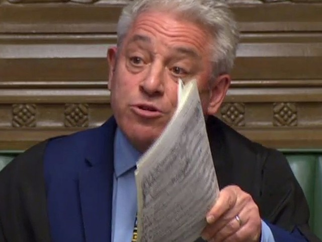 John Bercow calls out Theresa May's Brexit blackmail: Mirror Politics morning briefing