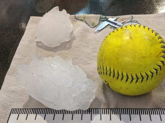 19 of the biggest hailstorms that ravaged the US over the years