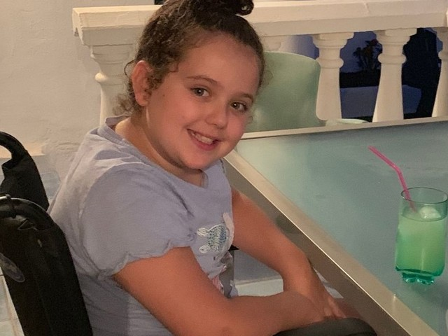 Girl, 9, paralysed from neck down after doing handstands for her mum