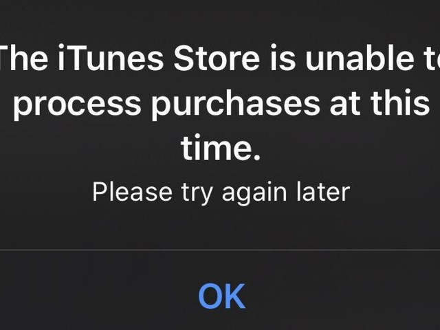 iPhone and iPad Users Seeing 'iTunes Store is Unable to Process Purchases' Error When Opening Apps