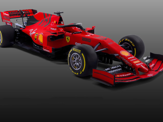 Ferrari F1 2019 car revealed