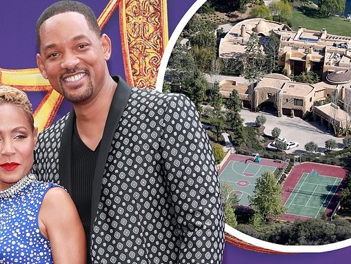 Will Smith and Jada Pinkett Smith's $42m Calabasas home caught on fire... but the couple are 'fine'