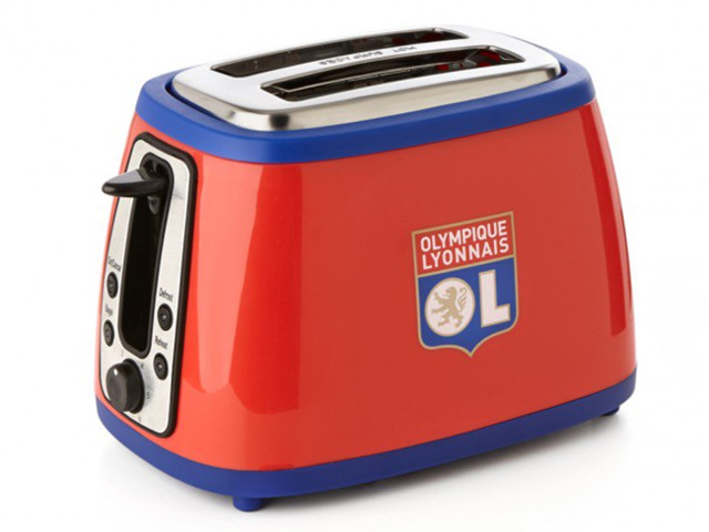 Pies' Christmas Football Gift Guide, No.3: Official Lyon Toaster That 'Cheers' When Your Toast Pops Up (Video Evidence)