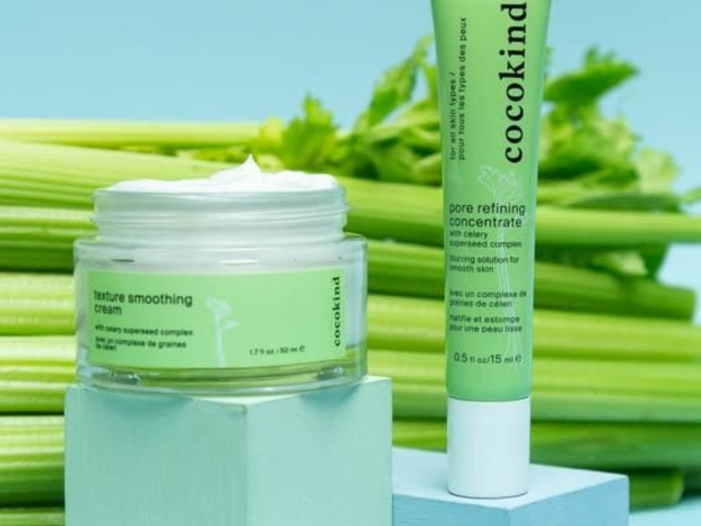 Celery-Based Skincare - Cocokind's Celery Duo Minimizes Pores & Uneven Texture (TrendHunter.com)