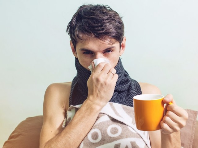A scientist set out to prove that man flu is real so he could justify whining about his seasonal colds — what he found isn't helpful