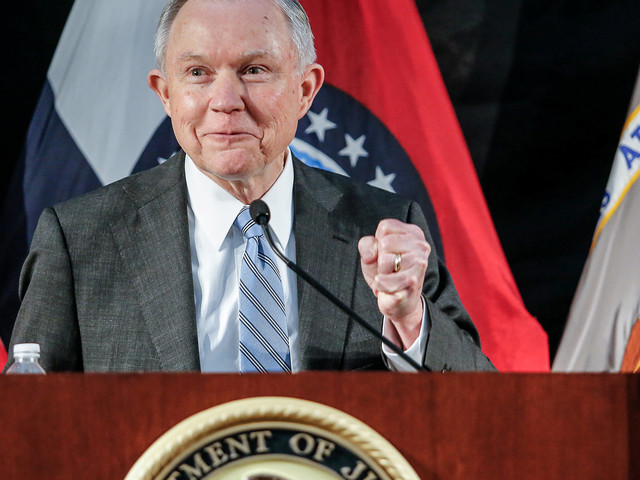 Sessions Signals A Rollback On Justice Department's Police Reform Efforts