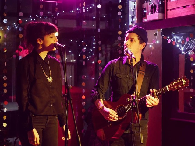 Lail Arad and J F Robitaille – Gullivers Lounge, Manchester, 06/12/2017