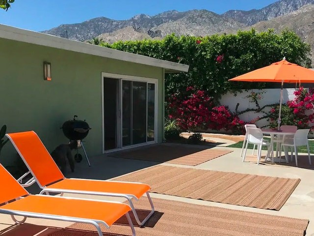 I took my family to a Palm Springs Airbnb for our first post-lockdown getaway — here's how it went
