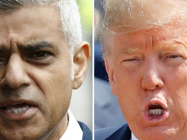 Sadiq Khan says the UK doesn't share Trump's values and Boris Johnson should tell him his views are wrong
