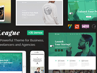 League - A Powerful Theme for Business, Freelancers and Agencies (Business)