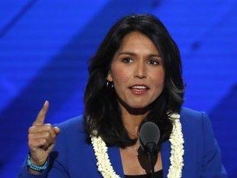 Democrat Gabbard says she will run for US president in 2020