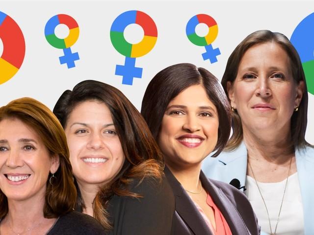 The 15 most powerful women at Google (GOOG, GOOGL)