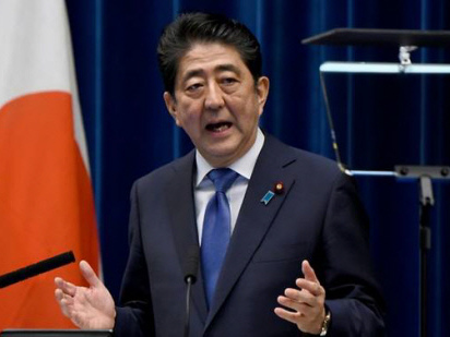 Abe: Nationalist blueblood at home, shrewd diplomat abroad