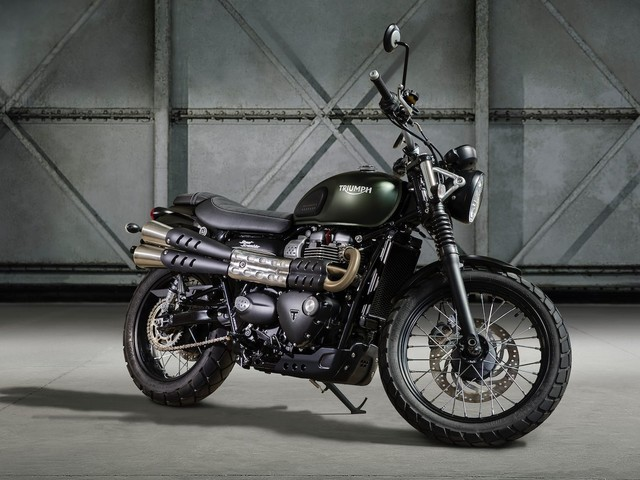 Triumph Street Scrambler launch on August 24