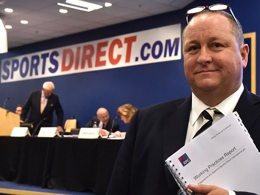 Sports Direct shareholders veto £11m to Ashley's brother