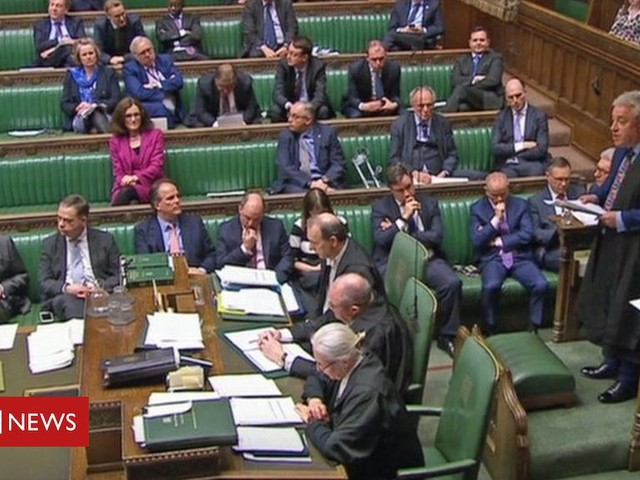 John Bercow: What does Speaker's ruling mean for Brexit?