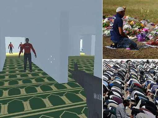 Online gamers create first-person shooter video games based on Christchurch terrorist attack