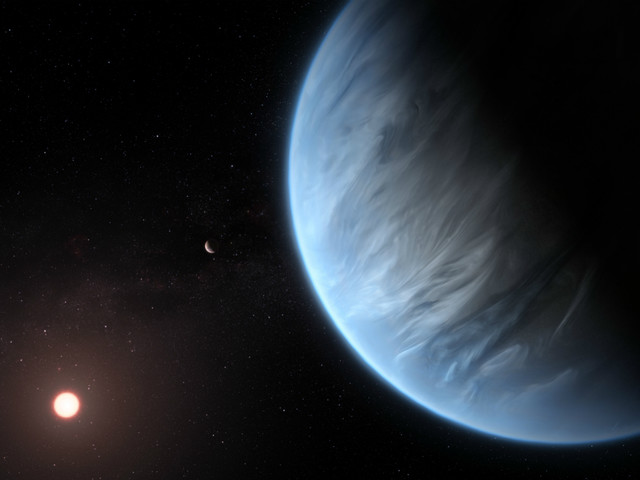 K2-18 b: distant planet is the 'best candidate for life'