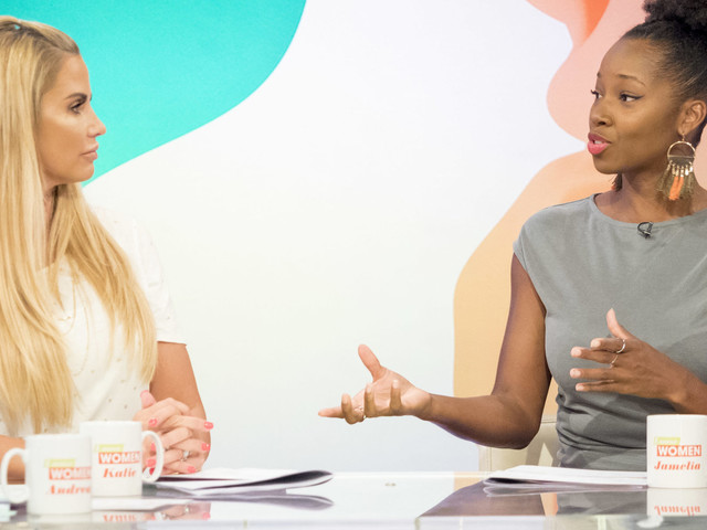 Jamelia Hits Out At Katie Price Over Use Of N-Word On 'This Morning'