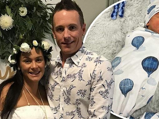 The Proposal's Jess Nooy welcomes a little boy with her fiancé Nathan Parks