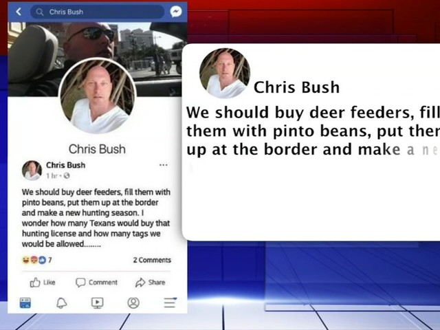 FIREFIGHTER FIRED: Facebook post suggesting hunting of migrants leads to ouster