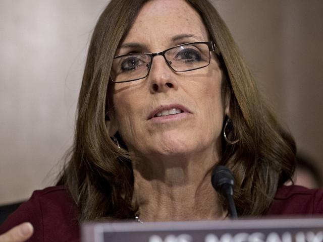 Sen. Martha McSally Praises John McCain But Doesn't Rebuke Trump For His Attacks