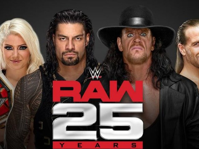 WWE Raw 25 live results, latest updates and reaction as The Undertaker joins legends returning for anniversary special