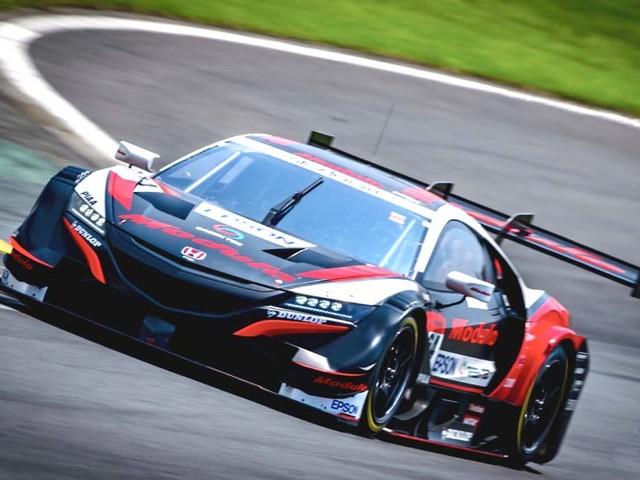 Narain Karthikeyan secures maiden podium at the Autobacs Super GT series