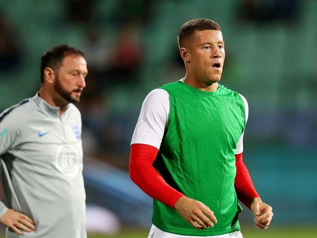 WATCH: Ross Barkley with the assist as England take the lead against Bulgaria!