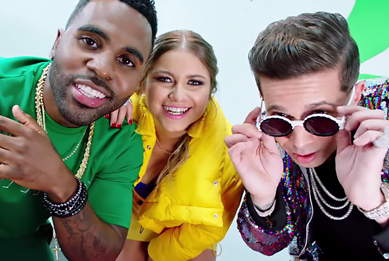 Sofia Reyes, Jason Derulo & De La Ghetto Continue to Make Pop Bilingual With '1, 2, 3'