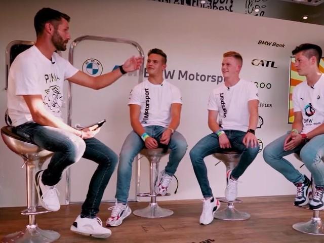 Video: Martin Tomczyk interviews the BMW Junior Team
