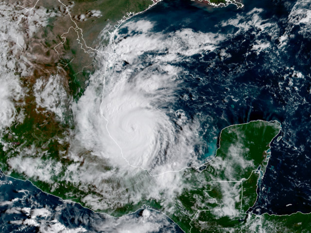 Hurricane Katia, the 6th hurricane of an unusually active season, expected to hit Mexico within 12 hours