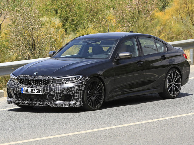 Next-generation G20-based Alpina B3 spied testing