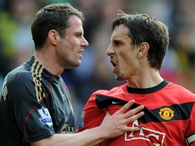 'Lets f*cking destroy them!' - Berbatov reveals how Neville used to prepare for Man Utd vs Liverpool showdowns