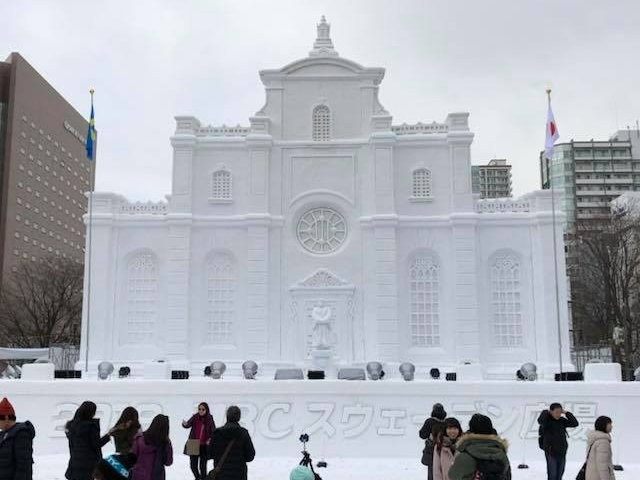 Japan's snow festival is a beautiful annual event — here are 2018's most impressive snow sculptures