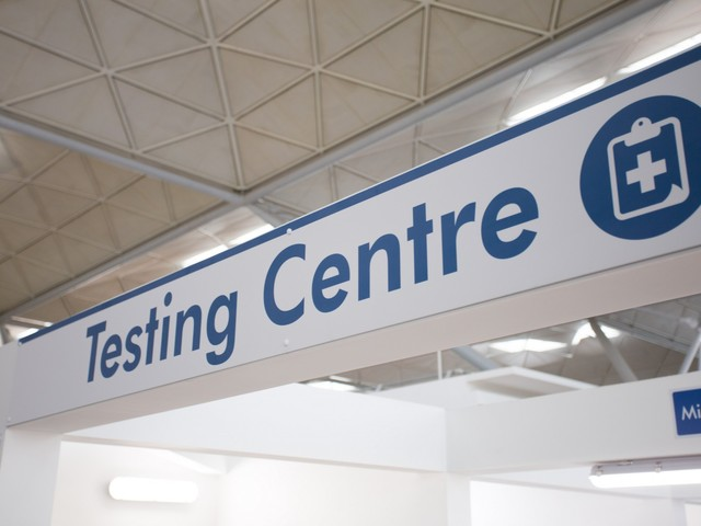 London Stansted Airport unveils new facility as part of UK's largest airport testing scheme to help get Britain flying again