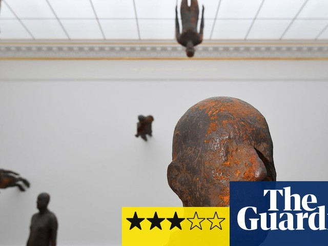 Antony Gormley review – sculptor puts a bomb in the RA
