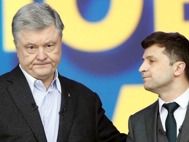 'I'm not your opponent, I'm your sentence!' Ukraine presidential hopefuls trade jabs in last debate