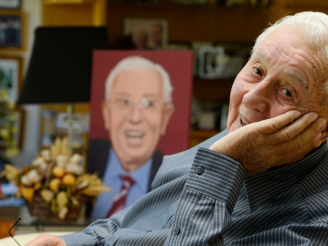 Sir Doug Ellis: The last interview with Aston Villa legend