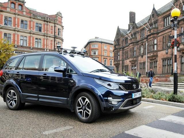 Autonomous Tata Hexa Trials Start On UK Roads