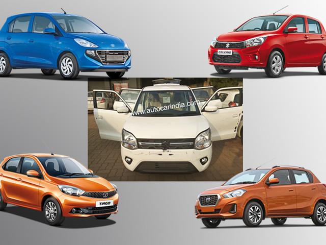 2019 Maruti Suzuki Wagon R vs rivals: Specifications comparison