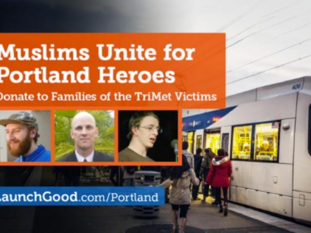 Muslims Raise Over Half A Million Dollars For Portland Victims