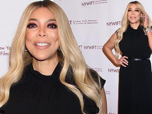 Wendy Williams looks effortlessly chic at New York Women In Film & Television's 40th Muse Awards