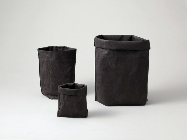 Air-Purifying Baskets - The Sumibako Woven Fabric Basket Has Charcoal in it to Purify the Air (TrendHunter.com)