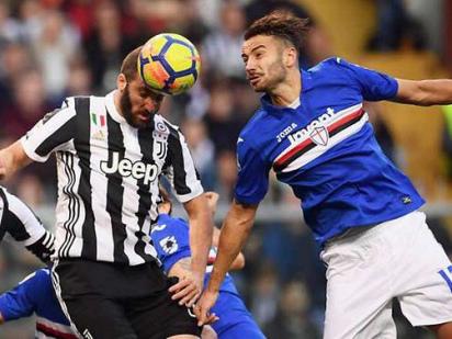 Juventus crash as Buffon, Barzagli rested