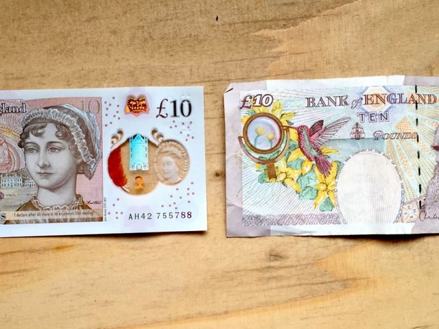 The new £10 note has entered circulation — featuring Jane Austen and multicoloured holograms