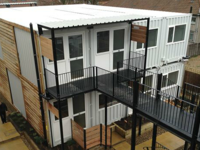 The councils using shipping containers to house homeless children