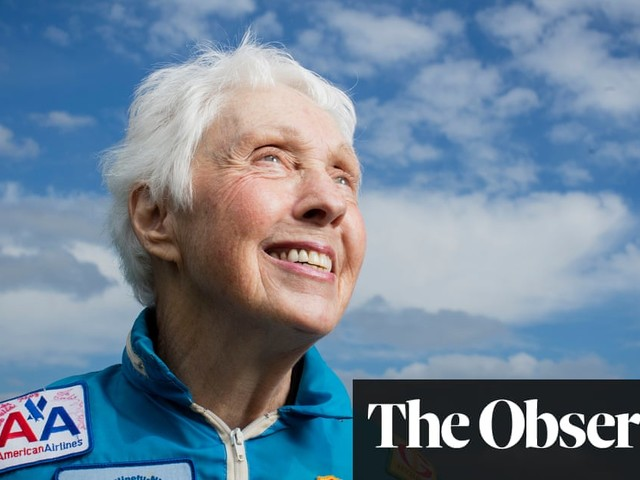 This space race has its downside… Rocketwoman Wally Funk joins crew for Jeff Bezos's ego trip