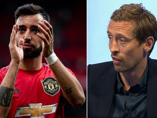 'He's got a bit of arrogance about him and United need that': Peter Crouch praises Bruno Fernandes